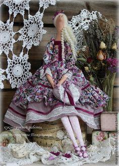 Куклы Тильды ручной работы. Ярмарка Мастеров - ручная работа кукла Тильда Диана.. Handmade.