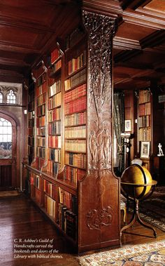 Brideshead Revisited Library at Castle Howard. Yorkshire, England, UK