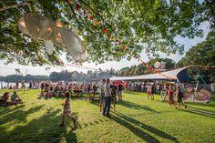 """Het 'Fields of Joy' festival op recreatiepark het Hulsbeek in Oldenzaal staat voor """"good vibes, good food & good music"""""""