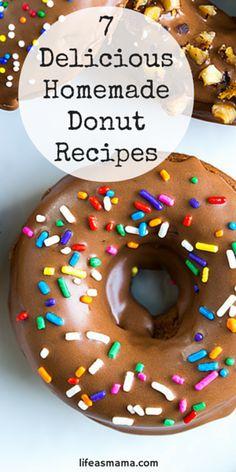 7 Delicious Homemade Donut Recipes