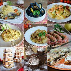 Menù Vigilia di Natale 2015 a base di pesce, ricette facili e veloci da preparare, antipasti, primi e secondi piatti.. Ricette sfiziose.