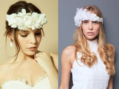 Killer Statement Bridal Headpieces from Ani Burech