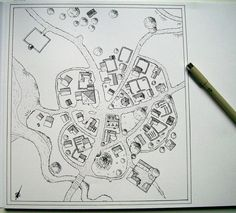 Small village map by Brian-van-Hunsel on DeviantArt