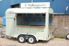 Convert a Horse box trailer for catering