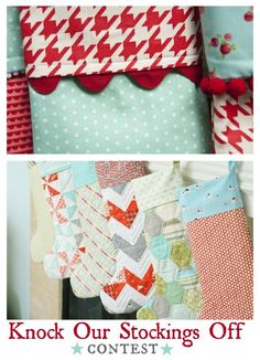 knock our stockings off contest and patterns...