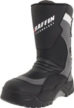 Baffin Men's Pivot Insulated Boot by Baffin. $165.70. 8-Layer removable inner boot system. leather. 2-stage BXT rubber base. Cold rating -94 F. Waterproof. Amazon.com Product Description                Built especially for winter motor sports, Baffin's Pivot boot is the perfect addition to cold-weather gear. The lightweight boot features insulating lining that also wicks away moisture, while the carbon fiber leather upper and shin shield are designed to protect ...