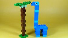 How To Make Lego DINOSAUR APATOSAURUS - 10664 LEGO® Bricks and More Crea...