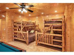 Gatlinburg Lodge Rental: Sleeps 26, 6.5 Ba, Theater, Hot Tub, Pool Table, 60-game Arcade,convenient, Wifi | HomeAway