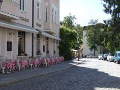 """Gaststätte """"Seerose"""", einst ein bayerisches Künstlerlokal, heute ein italienisches Ristorante"""