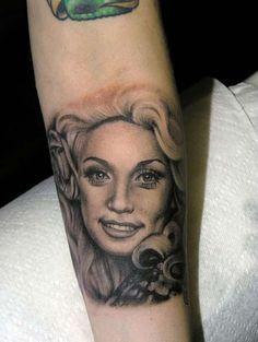 010924687 Kat Von D | High Voltage Tattoo Dolly Parton Tattoos, Top Tattoos, Sleeve  Tattoos
