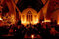 Carol Service  #church #christmas #carols #winter