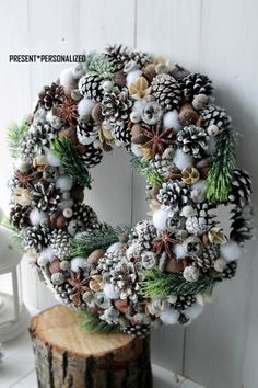 farmhouse christmas wreath,Rustic Winter Wreath door, Christmas Wreath for Front Door, Christmas wreath, Holiday Decor Pine Cone Christmas Decorations, Thanksgiving Decorations, Christmas Crafts, Christmas Ornaments, Prim Christmas, Christmas Wreaths For Front Door, Holiday Wreaths, Holiday Decor, Winter Wreaths