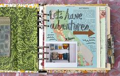 Life is Beautiful art journal e-course