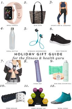 Gift Guide: Fitness and Health Guru - Get your fitness loving friends a gift they'll love! Christmas Gifts For Girls, Christmas Gift Guide, Christmas Shopping, Holiday Gifts, Christmas Ideas, Perfect Gift For Boyfriend, Boyfriend Gifts, Health Guru, Health Fitness