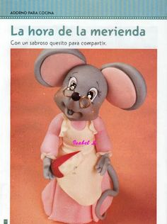 Granny mouse -   Cake Decorating Tutorials   (How To's) Tortas Paso a Paso