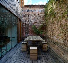 Contemporary Patio by Edgley Design