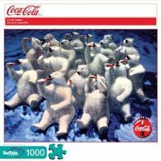 Coca-Cola Thirsty Bears 1000 Piece Jigsaw Puzzle $9.30