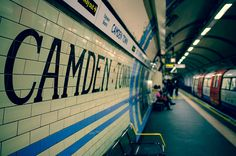 CAMDEN TOWN TUBE STATION | CAMDEN | LONDON | ENGLAND: *London Underground: Northern Line* Photo: Steven J Parkes