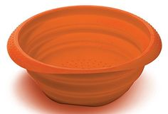 Perfect Life Ideas Silicone Collapsible Colander Spaghetti Strainer Mesh Drainer for Food Pasta Vegetables Fruit  Space Saving Design Folds Down Flat for Storage  Durable Dishwasher Safe ** Visit the image link more details. Note:It is affiliate link to Amazon.