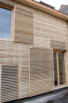 Onder meer deze duurzame woning in Schaarbeek opent de deuren op 5, 6, 11, 12 of 13 november. Klik op de foto om je gratis in te schrijven voor een bezoekje. Foto: www.ecobouwers.be.