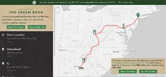 Navigating the Green Book Route Planner, Kiss Of Death, University Of South Carolina, Jim Crow, Green Books, Interactive Map, Find Hotels, New York Public Library, Travel Guide