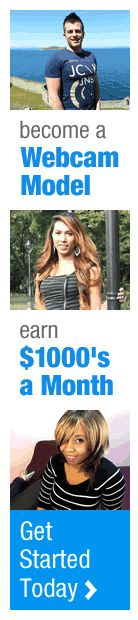 Become a WEBCAM MODEL & EARN $1000's a month. Click on the image to get started for FREE.