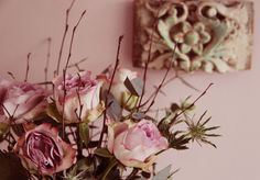 Roses for Antoinette, Antoinette is the wall paint colour by @Annie Sloan