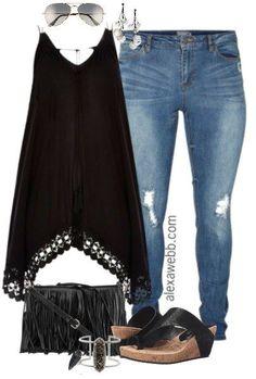 Fashion Plus Size Black Boho Outfits . Boho Outfits, Casual Outfits, Cute Outfits, Fashion Outfits, Fashion Trends, Fashion Clothes, Casual Dresses, Fashion Inspiration, Black Women Fashion