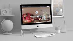 Création d'un site internet design hybride one page et annuaire pour des visites virtuelles google business view, une réalisation de l'agence web vizions sur lyon pour un client photographe agrée business view, a découvrir sur le site de l'agence de communication lyon
