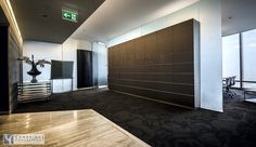 Honest RE office inside Burj Khalifa, full floor. Designed and executed by Cambridge Consultancy.
