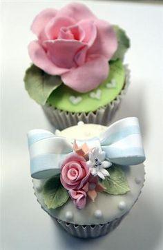 Country garden cupcakes