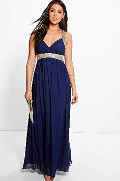 boohoo Sequin Panel Mesh Maxi Dress - navy AZZ11610 Boutique sequin maxi dressFloaty chiffon and a flash of sparkle make this maxi dress an oh-so perfect occasionwear piece! We love it with an embellished clutch, barely-there heels and a nude lip. Lann http://www.MightGet.com/january-2017-13/boohoo-sequin-panel-mesh-maxi-dress--navy-azz11610.asp