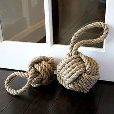 Nautical Knot Door Stops