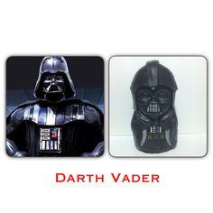 Colorful Darth Vader.