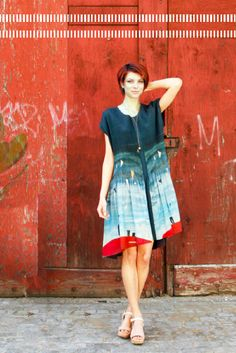 Feral Childe Doppler Dress. Made in New York, NY.