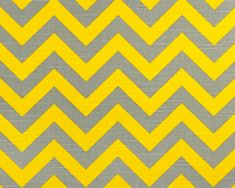 Chevron Fabric yellow grey by the Yard Premier Prints Zigzag Ash corn slub cotton home decor Fabric - 1 yard or more - SHIPS FAST via Etsy