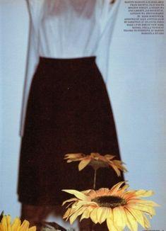 @MarkBorthwick #90s #skirt #sunflower | VFILES