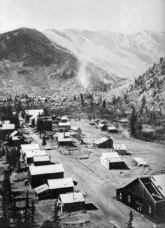 Georgetown, Colorado. Mining town between 1865-1875