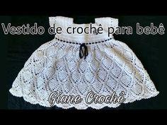 Tunic Dress Tutorial ~ tips on Baby Girl Crochet, Crochet Baby Clothes, Crochet For Kids, Free Crochet, Knit Crochet, Crochet Hats, Crochet Stitches, Crochet Patterns, Dress Tutorials