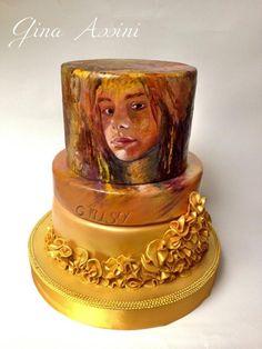 Art+cake++-+Cake+by+Gina+Assini