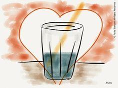 Il bicchiere mezzo poeno
