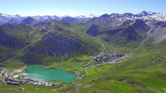 Amazing HD heli shoot of #Tignes in summer! http://vimeo.com/m/103822569    https://twitter.com/TignesAddict/status/502061767749799936/photo/1