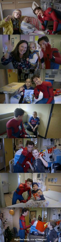 I got more respect for Tom Holland. Really great guy at the Children's Hospital. Can't wait to see the movie! Avengers Memes, Marvel Memes, Marvel Fan, Marvel Avengers, Spiderman, Toms, Tom Holland Peter Parker, Dc Memes, Tommy Boy