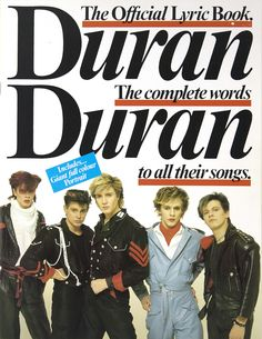 New! Duran Duran Collector's Corner focusing on books! How many of these do you have? http://duran.io/2bhTq4t