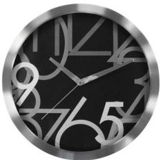 Found it at Wayfair - Aluminum Wall Clock Clocks Inspiration, Tabletop Clocks, Diy Clock, Clock Wall, Unique Wall Clocks, Metal Walls, Geneva, Design, Amazon