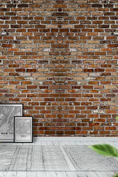Brick wall xxl Wall Mural - Wallpaper