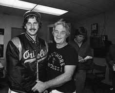 Mike Flanagan & Earl Weaver, 1979.