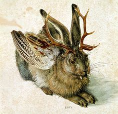 by Albrecht Dürer The wolpertinger is a chimeric creature from Bavarian folklore, said to inhabit the alpine forests.Wolpertinger by Albrecht Dürer The wolpertinger is a chimeric creature from Bavarian folklore, said to inhabit the alpine forests.