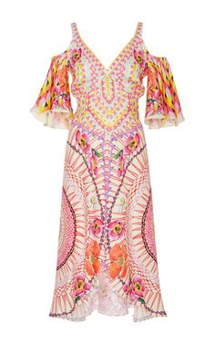 V Neck Dream Catcher Dress by Temperley London | Moda Operandi