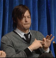 Funny Norman gif..... oh Norman, what are you doing  my darling....